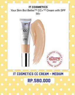 It cosmetics - cc cream SPF 50