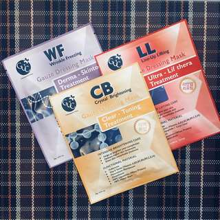 BunDEAL! 3pcs CheongDamU Clinic Sheet Masks