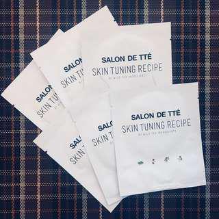 BunDEAL! 6pcs Salon De Tte Skin Tuning Recipe