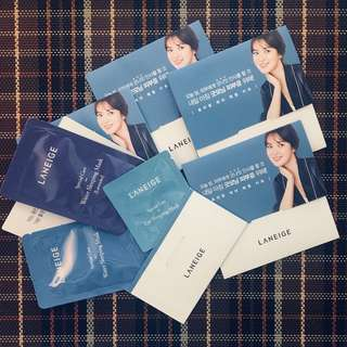 BunDEAL! 5pcs Laneige Water Sleeping Sample Kit