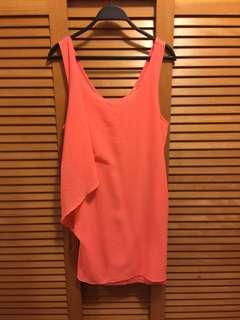 Zara mini dress W&B collection