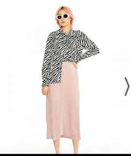 Pomelo pink skirt