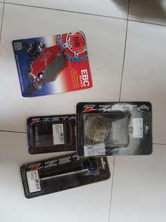 Drz 400 EBC front brake pads