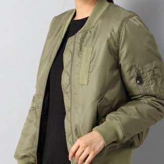 Heather bomber jacket