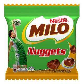 美祿朱古力 milo nuggets 90g