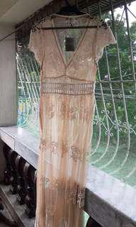 Forever 21 See Through Maxi