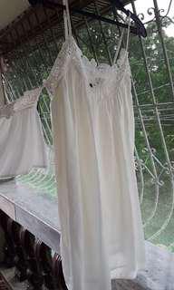 Zara Off shoulder white top