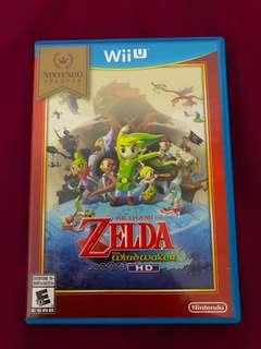 WiiU Zelda Wind Waker HD 美版