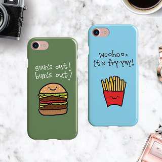 🚚 Burger / Fries Phone Case