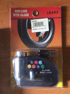Alarm Disc Lock for Motorcycle