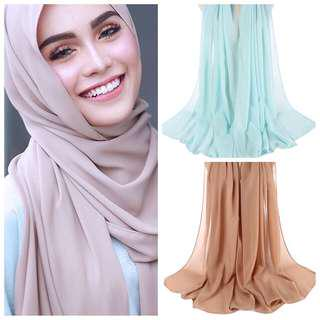 High quality chiffon shawl