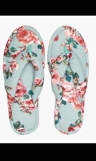 Bedroom slippers elsa floral