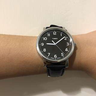 TIMEX 皮革錶