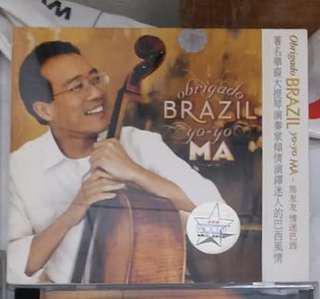 Yo-Yo Ma Obrigado Brazil (全新) 未開封