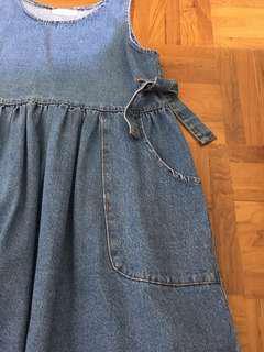 Preloved Denim Dress