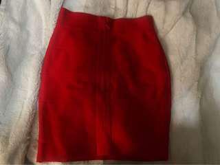 Red Bandage Skirt (Small)