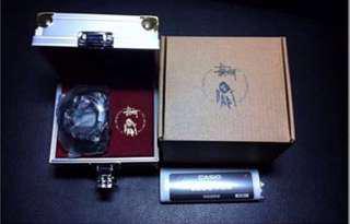 Kpop Casio G-Shock bape x stussy frogman Diver diving watch