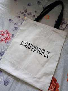 #HAPPINURSE tote bag