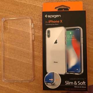 Spigen iPhone X Liquid Crystal Casing