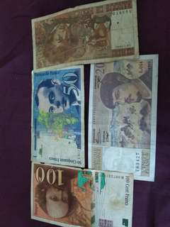 4 beautiful french notes including lil prince