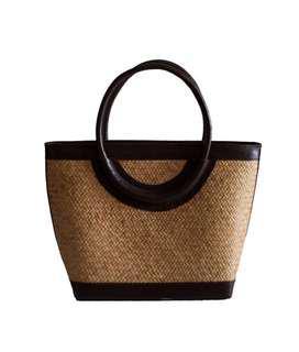 Small Wicker handbag