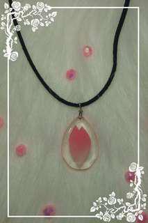 Cherry blossom petal pendant