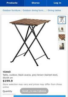 超新露台花園摺枱摺桌