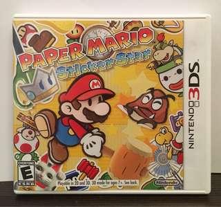 [3DS] Paper Mario Sticker Star - US VERSION (美版)