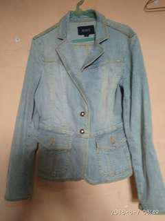 Jaket jeans blazer
