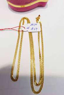 18k-21k saudi/japan gold chain