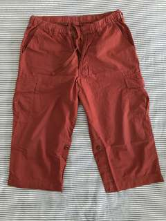 Uniqlo 3/4 Rolled-Up Short Pants