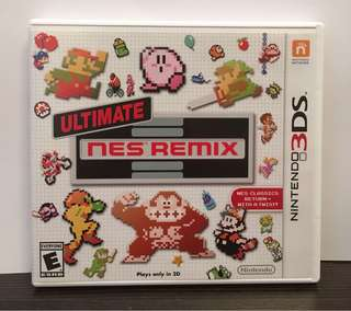 [3DS] Ultimate SNES Remix - US VERSION (美版)