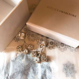 💍SWAROVSKI 水晶耳環 Earrings 包平郵