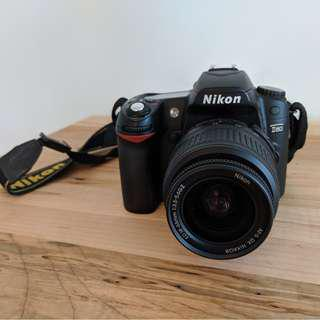 Nikon D80 with Nikon DX 18-55mm lens