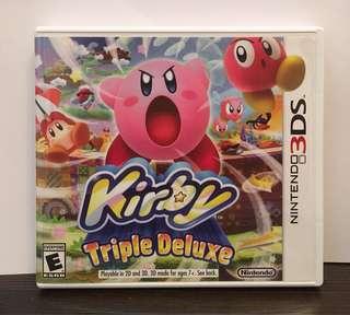 [3DS] Kirby: Triple Deluxe - US VERSION (美版)