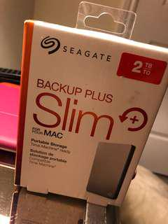 Seagate Portable Storage for Mac (never opened) 2TB