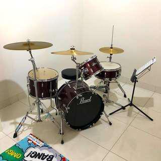 Drum set Pearl Roadshow Acoustic