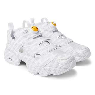 e5f51d12a5a73f Vetements x Reebok InstaPump Fury Emoji Sneakers (Mr.Porter Exclusive) -  Grey