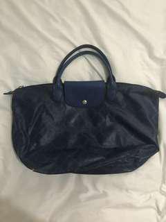 Authentic Longchamp Mid size short handle