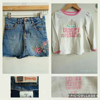 Sale! Set for Girls 4-5T