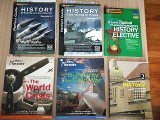 History o level assessment books/textbook/practice question/notes
