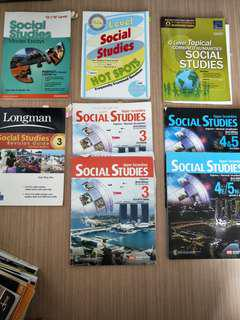 Social studies o level assessment books/textbook/practice question/notes