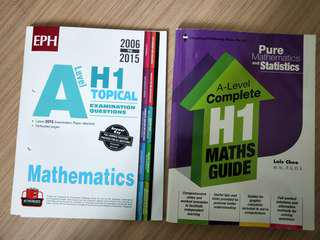 A level h1 math assessment book/practice/notes