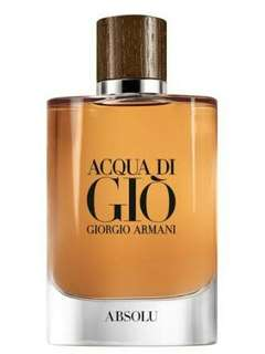 Brand new Acqua Di Gio ABSOLU edp 75 ml