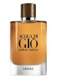 Brand new Aqua Di Gio Absolu EDP 75 ML