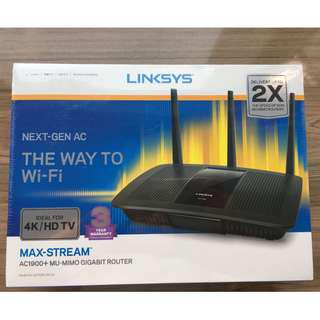Free Delivery Linksys Max-Stream AC1900+ MU-MIMO Gigabit Router