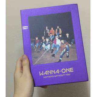 WTS Wanna One Nothing Without You album