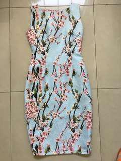 Sackdress jaquard Sakura