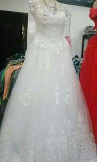Wedding Gown from the US factory