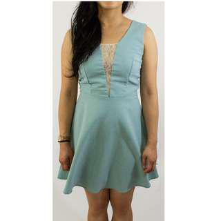 Max and Riley Teal Sway Dress